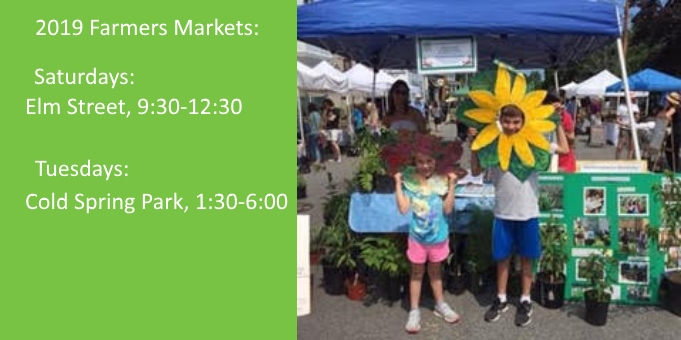 Join SGW at Newton's Farmers Markets!